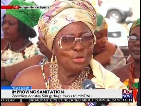 Improving Sanitation - News Desk on JoyNews (31-8-18)