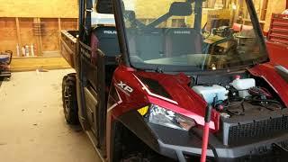 Polaris Ranger/ boss plow 2018 update