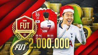 MI PLANTILLA DE 2 MILLONES PARA FUT CHAMPIONS!!   FIFA 19