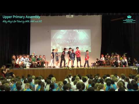 Upper Primary Assembly: Milky Way's Got Talent, 5HA, 5AM and 5VS