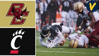 Boston College Vs #21 Cincinnati Highlights   2020 Birmingham Bowl Highlights   College Football