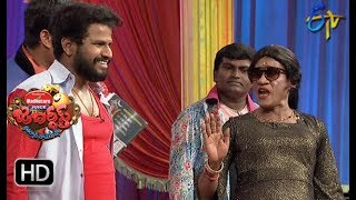 "The ""Jabardasth"" Katharnak Comedy Show is a popular Telugu TV comedy show, rated ""excellent"" among Telugu, broadcast on ETV channel, in Telugu States, India. The show was first telecast on ETV on 7 February 2014, featuring popular Telugu film industry actor and producer Nagendra Babu and Telugu film actress and politician Roja."
