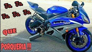 Yamaha R6 Sonido Sin Escape