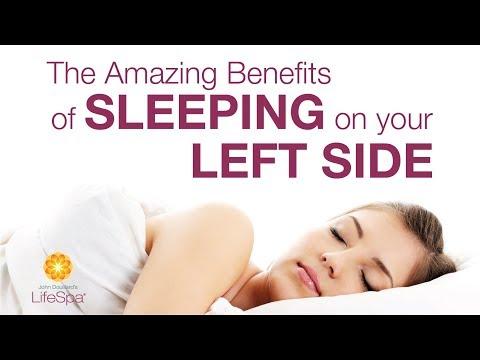 Amazing Benefits of Sleeping on Your Left Side | John Douillard's LifeSpa