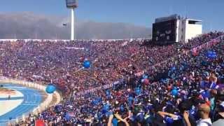 Salida Universidad De Chile Vs. Unión La Calera - Estadio Nacional