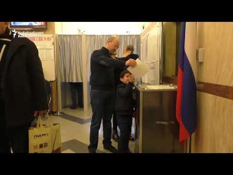 Russians In Azerbaijan Vote In Presidential Election