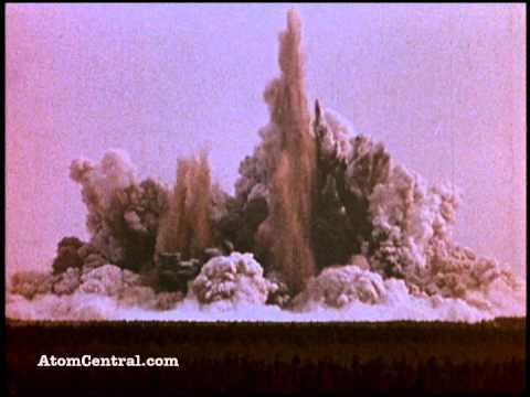 Nükleer Patlamalar ile Kanal Açmak
