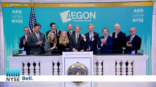 Aegon rings the NYSE Opening Bell