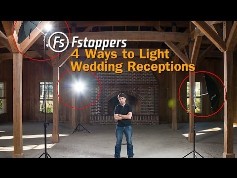 Fstoppers Tutorial:  How To Light Wedding Reception Venues for Wedding Photography