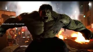 hulk vs abomination Fight scene in reverese