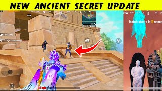 NEW Update ANCIENT SECRET NEW Map NEW SKINS In PUBG Mobile