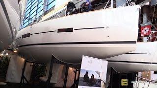 2017 Dufour 382 Grand Large Sailing Yacht - Deck And Interior Walkaround - 2016 Salon Nautique Paris
