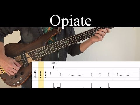 Opiate (Tool) - Bass Cover (With Tabs) by Leo Düzey