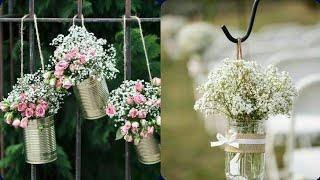 Wedding Floral Arrangement And Decorations Very Beautiful Gorgeous Rustic Burlap Wedding Ideas