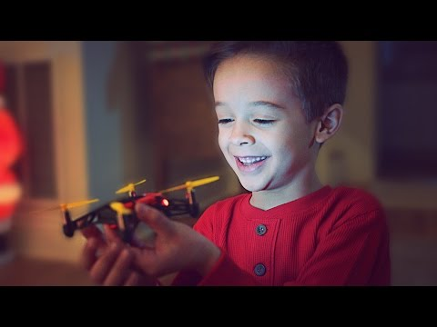 CHRISTMAS STORY ABOUT A DRONE // @ScottDW