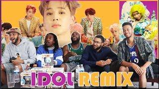 Gambar cover KINGS and QUEEN! BTS (방탄소년단) 'IDOL (Feat. Nicki Minaj)' Official MV REACTION/REVIEW