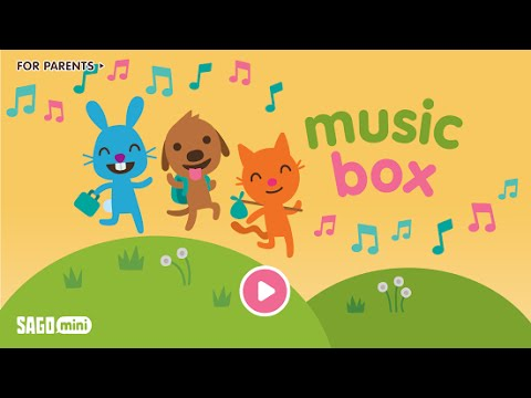 Fun Free App Sago Mini Music Box – Kids Education App Review