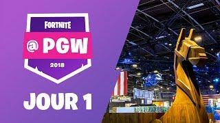 Fortnite à la Paris Games Week - Jour 1