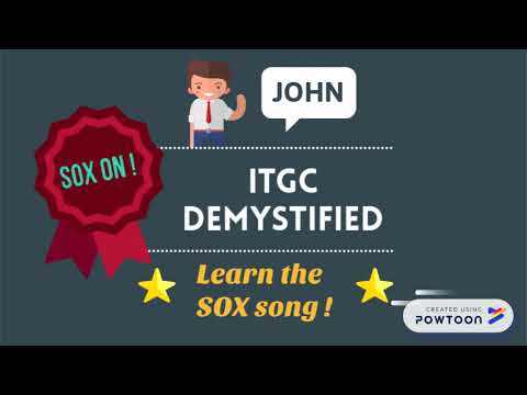 SOX IT Demystified - Introduction to our ITGC Training - YouTube
