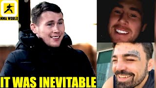 Darren Till reacts to his BROMANTIC Instagram Live Video along with Mike Perry,Belal on 'SOFT' Leon