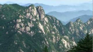 Video : China : Exploring the beautiful HuangShan 黄山 mountain; part 1 (1/8)