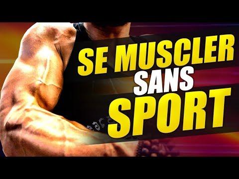 Comme la protéine pour la croissance des muscles