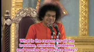 SOULJOURNS - A SAI BABA VIDEO GEM - NOTE- WITH ENGLISH SUBTITLES - DISCOURSES FROM THE PAST