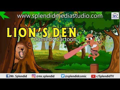 THE LION'S DEN; COMEDY CARTOON