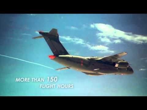 kc 390 flight campaign status