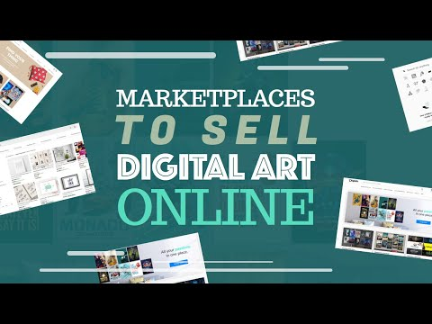 Marketplaces to sell digital art online