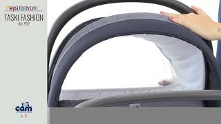 CAM Taski Fashion 3in1 multifunkciós Babakocsi #szürke