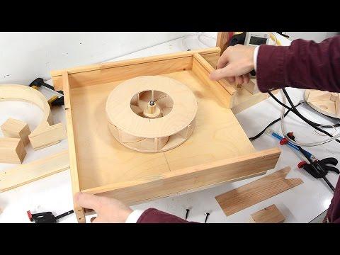 Blower housing shape experiments