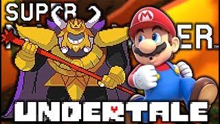 THESE BATTLES VERSUS ASGORE ARE EPIC!! | Undertale Levels | Super Mario Maker