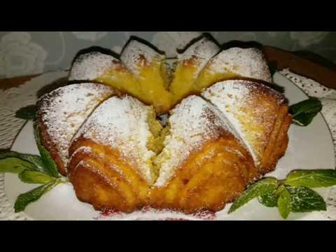 Быстрый пирог к чаю  Апельсиновый, солнечный пирог /Quick Orange Cake