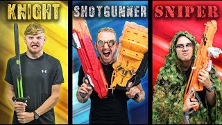 Download Youtube: NERF Choose Your Class Challenge!