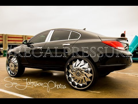 New School Banging with Sundown Audio Buick Regal on Dub Wheels in HD street whipz