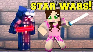 Minecraft: STAR WARS ESCAPE!!! - STAR WARS FIND THE BUTTON - Custom Map