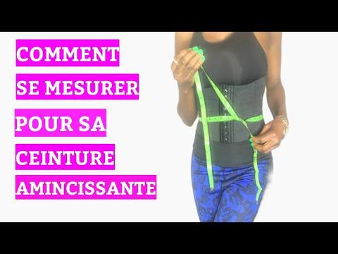 Comment mesurer son TOUR DE TAILLE avant  l'achat du Waist Trainer