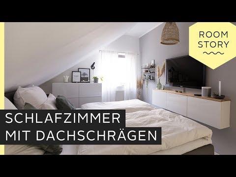 Schlafzimmer mit Dachschräge einrichten | Roombeez – powered by OTTO
