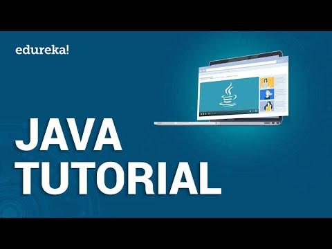 Java Tutorial 2020 | Java Certification Training | Edureka