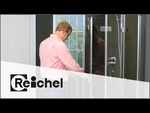 Reichel KG - Dusch-Faltkonzept - Flat Fensterlösung