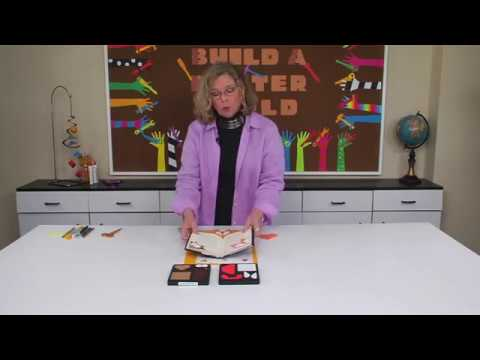 Ellison Education Lesson Plan #12107: Corner Bookmarks
