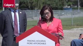 CMHC announces funding for affordable housing developments in Calgary
