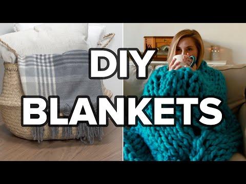 4 DIY Blankets