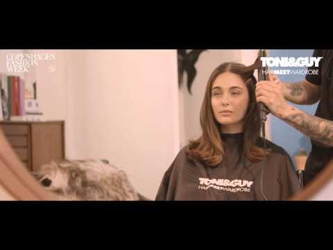 Toni  Guy Tutorial Glamour Sky High Volume Dry Shampoo