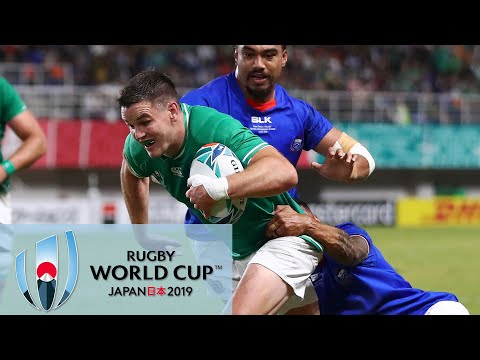 Rugby World Cup 2019: Ireland vs. Samoa | EXTENDED HIGHLIGHTS | 10/12/19 | NBC Sports