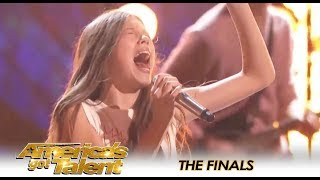 Courtney Hadwin Brings ROCKER STYLE To Tina Turner Song On AGT Finales 😍| America's Got Talent 2018