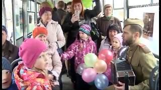 Трамвай Победы проехался по Череповцу