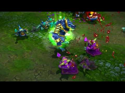 A Glimpse At League Of Legends' Champions