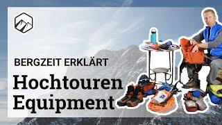 Hochtour: Ausrüstung & Tipps zum Rucksackpacken | Bergzeit